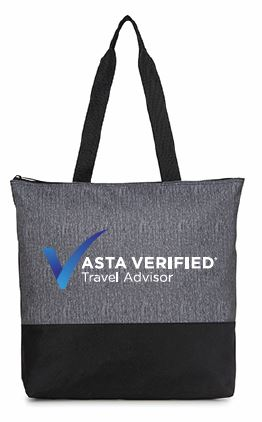 ASTA Verified Travel Advisor Program Tote Bag